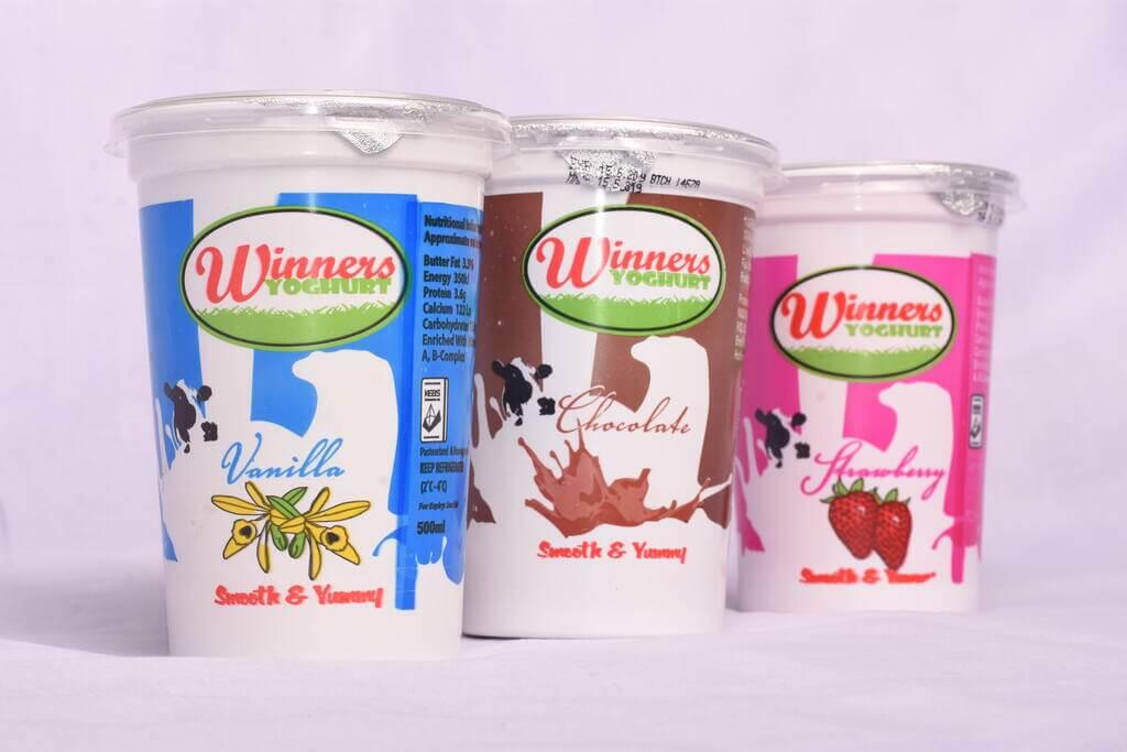 Winners Yoghurt Flavors
