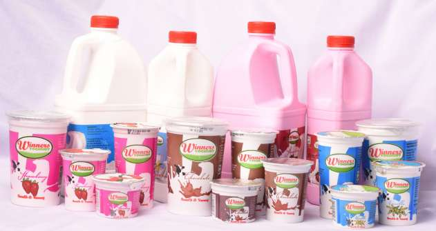 Assorted Yoghurt Products